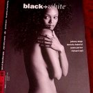 Black+White Fine Art Photographic Journal * Nudes / U2 / Johnny Depp * Rare 1997 Mint