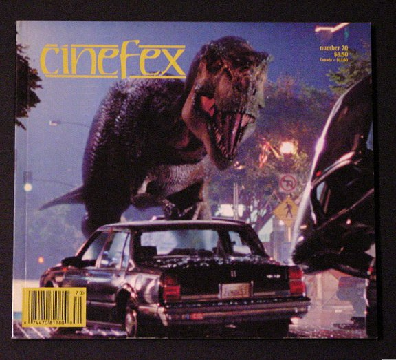 cineFex Film Journal * Jurassic Park / Lost World & Fifth Element * 1997 MINT