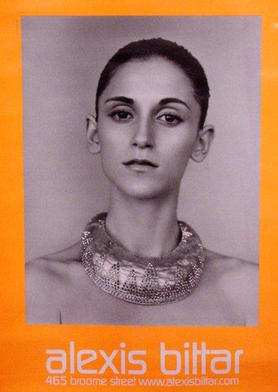 Alexis Bittar SOHO NYC Jewelry Original 2 Poster SET 3' x 4' 2007 New