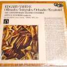 Edgard Varese Original 4 Channel QUAD LP * OFFRANDES / INTEGRALES * with ShrinkWrap 1972 Mint