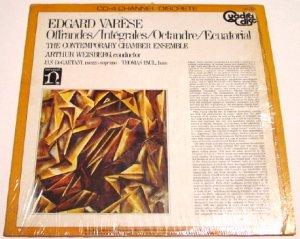 Edgard Varese Original 4 Channel QUAD LP * OFFRANDES / INTEGRALES * with ShrinkWrap 1972 Mint