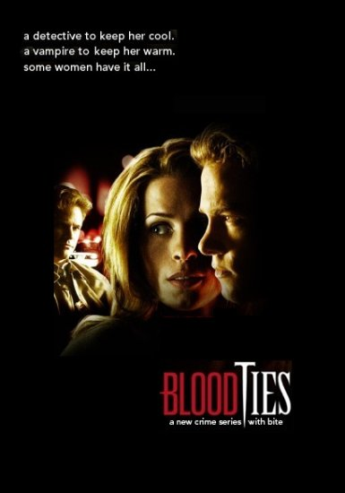 Tanya Huff's BLOOD TIES Poster 3' x 4' Lifetime Channel 2007 Rare NEW