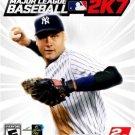 BASEBALL 2K7 Game Poster * Derek Jeter * XBOX 2' x 3' Rare 2007 NEW