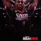 NBA BASKETBALL 2K9 Original Game Poster SET XBOX 2' x 3' New 2008