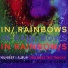 "Radiohead * IN RAINBOWS * Music Poster 14"" x 22"" Rare 2008 NEW"