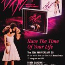 "Dirty Dancing * 20th ANNIVERSARY * Music Poster 14"" x 22"" MINT 2007"