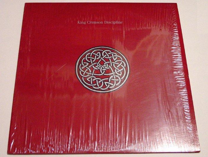 King Crimson * DISCIPLINE * Original LP Album with Shrinkwrap 1981 Mint