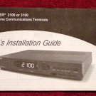 Scientific Atlanta Explorer 3100 Digital Cable Box Manual * MANUAL ONLY * NEW