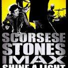 The Rolling Stones * SHINE A LIGHT * Original Movie Poster HUGE 4' x 6' Rare 2008 Mint