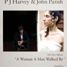 P J HARVEY & JOHN PARISH Music Poster 2' x 3' Rare 2009 NEW