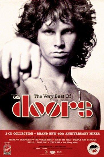 The Doors * THE VERY BEST OF * Original Music Poster 2' x 3' Rare 2007