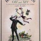 Hendrick's Gin Original AD Poster * OH MY * 2' x 3' NEW 2009 Rare