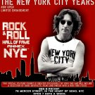 John Lennon * NEW YORK CITY YEARS * Exhibit Poster 3' x 4' Rare 2009 MINT