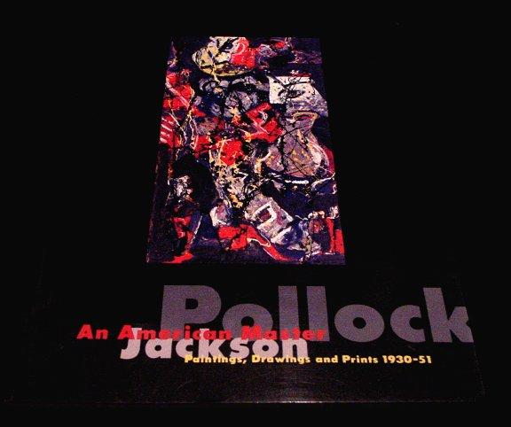 Jackson Pollock *American Master:Paintings,Drawings & Prints 1930-51* Ueno Royal Museum 1994 MINT