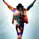 Michael Jackson * THIS IS IT * Orig. Movie Poster HUGE 4' x 6' Rare 2009 Mint