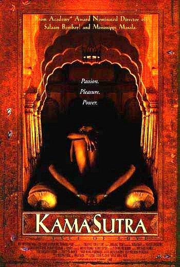 """Mira Nair's KARMA SUTRA Movie Poster * SARITA CHOUDHURY & INDIRA VARMA * 27"""" x 40"""" Rare 1997 NEW"""