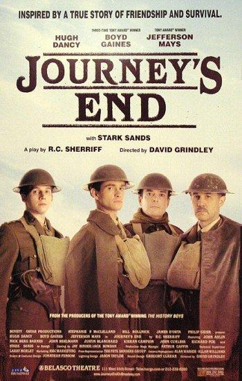 "JOURNEY'S END Broadway Poster * HUGH DANCY * 14"" x 22"" Rare 2007 NEW"