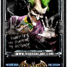 BATMAN : ARKHAM ASYLUM Game Poster SET  2' x 3' Very Rare 2009 MINT