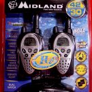 Midland GXT900VP4 * H20 * 42-Channel 30 MILE 2-WAY WALKIE TALKIE RADIOS ( Pair of 2 ) NEW