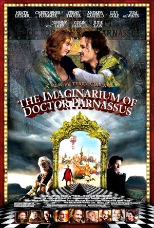 """The Imaginarium of Doctor Parnassus Movie Poster * HEATH LEDGER * 27"""" x 40"""" Rare 2009 NEW"""