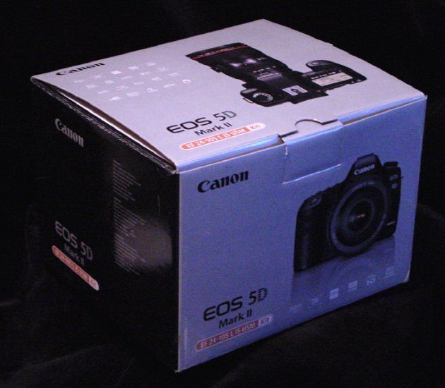 Canon EOS 5D Mark II * Retail BOX ONLY * Mint New Condition