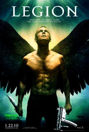 LEGION Original Movie Poster HUGE 4' x 6' Rare 2010 NEW