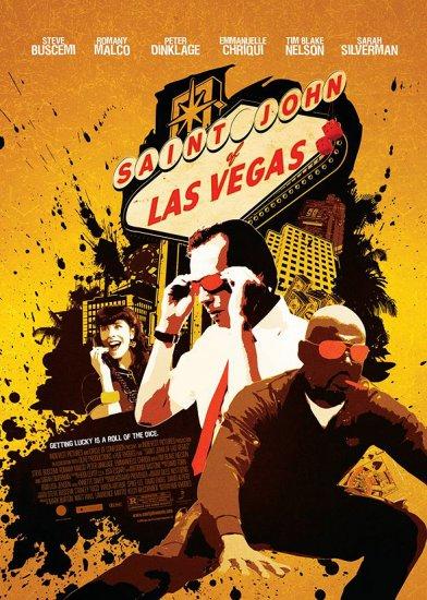 Saint John of Las Vegas * STEVE BUSCEMI * Orig. Movie Poster HUGE 4' x 6' Rare 2010 Mint
