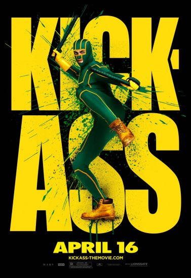 KICK-ASS Original Movie Poster * KICK-ASS * 4' x 6' Rare 2010 NEW