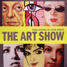 The Art Show ADAA Annual ARMORY NYC Original Exhibit Poster 2' x 3' Rare 2010 Mint