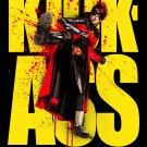 KICK-ASS Original Movie Poster * RED MIST * 4' x 6' HUGE 2010 NEW