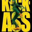 KICK-ASS Original Movie Poster * KICK-ASS * 4' x 6' HUGE 2010 NEW