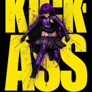 KICK-ASS Original Movie Poster * HIT GIRL * 4' x 6' HUGE 2010 NEW