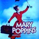 Disney's MARY POPPINS Original Broadway Poster 4' x 6' Rare NEW 2010