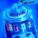 HAIRSPRAY Original Broadway Poster * LANCE BASS * 4' x 6' Rare MINT 2008