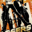 THE LOSERS Original Movie Poster * ZOE SALDANA * 2' x 3' Rare 2010 NEW