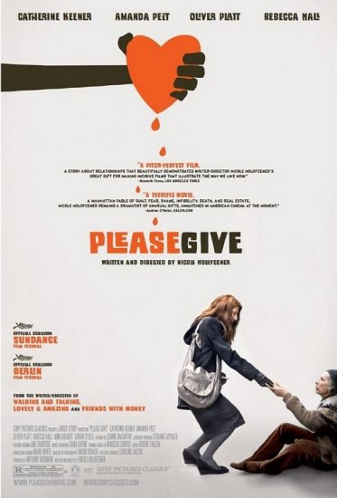 """Please Give Movie Poster * CATHERINE KEENER * 27"""" x 40"""" Rare 2009 NEW"""