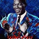 American Revolutionaries * NAT KING COLE * RETNA Poster 2' x 3' Ovation* Rock N' Soul *2009 NEW