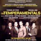 "Jon Marans * THE TEMPERAMENTALS * Off-Broadway Poster 14"" x 22"" Rare 2010 NEW"