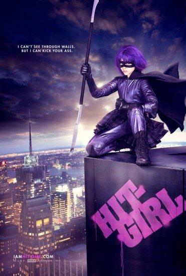 KICK-ASS Original Movie Poster * HIT GIRL * 27 x 40 DS 2010 NEW