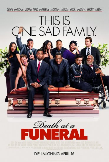 DEATH AT A FUNERAL Original Movie Poster * CHRIS ROCK  * 27 x 40 DS Rare 2010 NEW