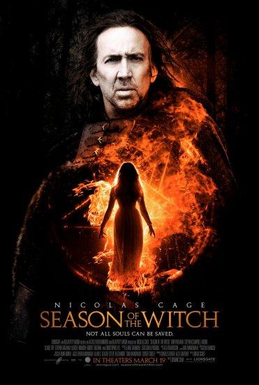 SEASON OF THE WITCH Original Movie Poster * NICOLAS CAGE * 27 x 40 DS Rare 2010 NEW