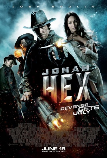 JONAH HEX Original Movie Poster * JOSH BROLIN * 27 x 40 DS Rare 2010 NEW