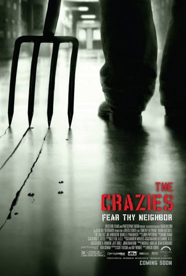THE CRAZIES Original Movie Poster * TIMOTHY OLYPHANT * 27 x 40 DS Rare 2010 NEW