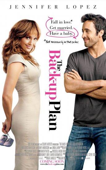 The Back-Up Plan Movie Poster * JENNIFER LOPEZ * 3' x 4' Rare NEW 2010