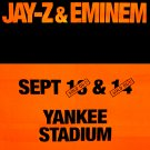 Jay-Z & Eminem * YANKEE STADIUM * Original Music Concert Poster 2' x 3' Rare 2010 NEW