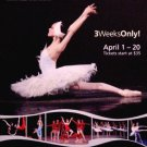 "KIROV BALLET Dance Poster * ALINA SOMOVA * NYC Center 14"" x 22"" MINT 2008"