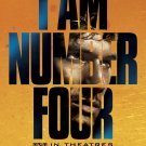 I Am Number Four Original Movie Poster HUGE 4' x 6' Rare 2011 NEW