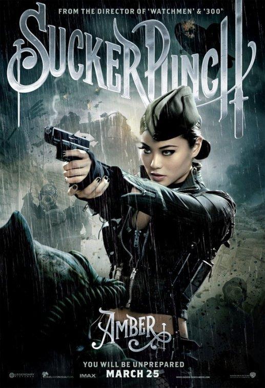 Zack Snyder's SUCKER PUNCH Original Movie Poster * Jamie Chung * 2' x 3' Rare 2011 NEW