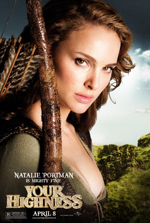 YOUR HIGHNESS Original Movie Poster * Natalie Portman ...