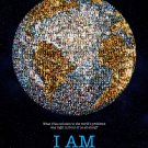 "I AM Original Documentary Movie Poster * Noam Chomsky * 27"" x 40"" Rare 2011 Mint"